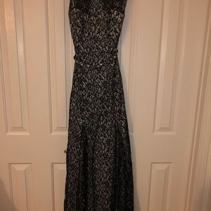 Beautiful  Beaded Prom Dress or Formal gown.